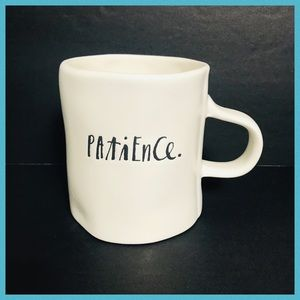 RAE DUNN PATIENCE COFFEE & TEA MUG